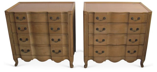 French-Style   Chests, Pair