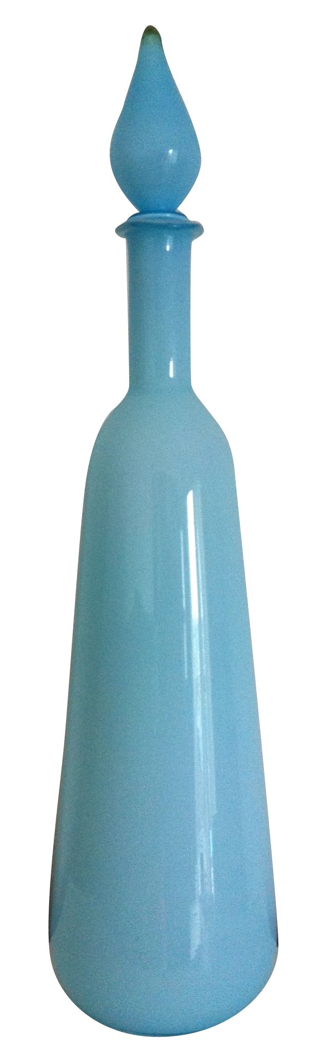 Sky Blue Toscany Rounded Decanter