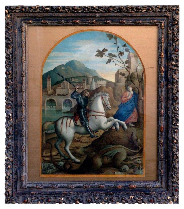 St. George Slays the Dragon (12/27)