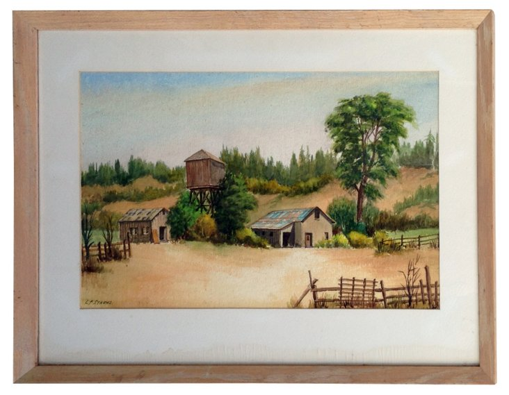 Ward Ranch by Leonard Starks