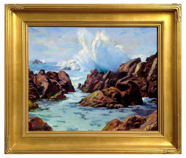 *Pebble Beach Surf by Warshawsky (1/17)