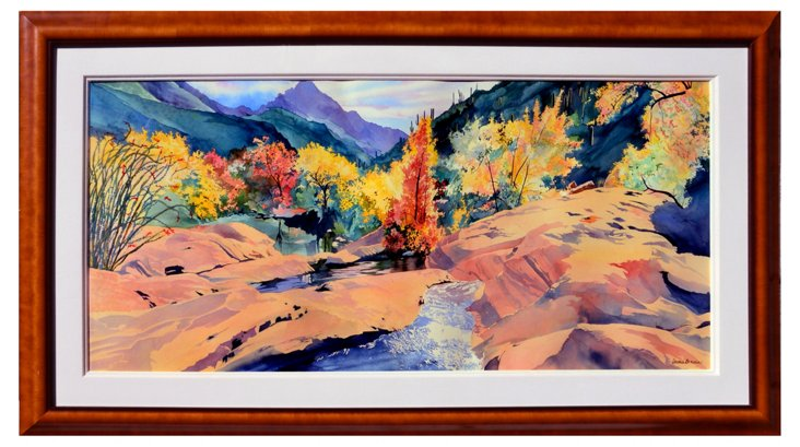 Sabino Canyon by Laurie Bender, 1996