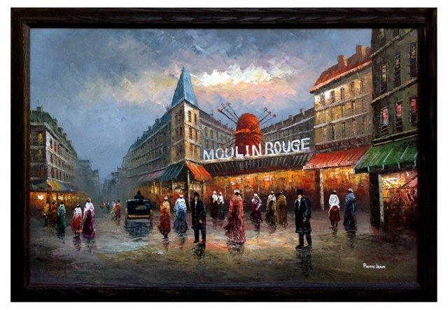 Moulin Rouge by Pierre Lenox