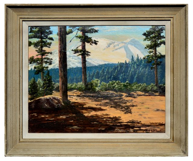 Mount Lassen Redwoods by Paul Wylie
