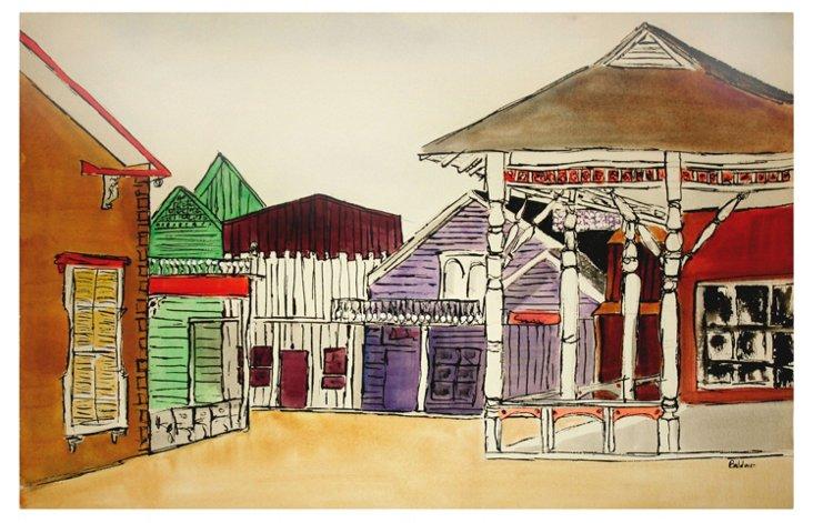 Gold Rush Town by Diane Baldwin