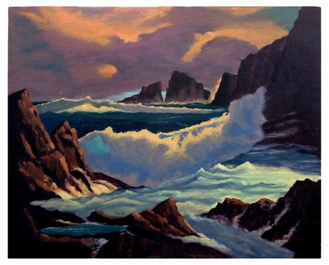 Seascape & Nature's Splendor by Hughes