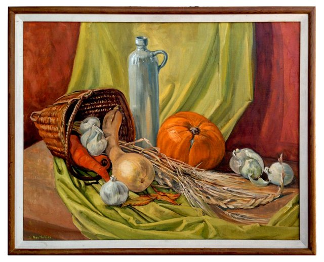 Autumn Basket by Dorothy Bouthillier