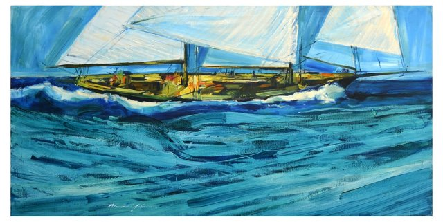 America's Cup by Marshall Johnson