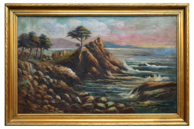 Cypress Point by William M. Lemos