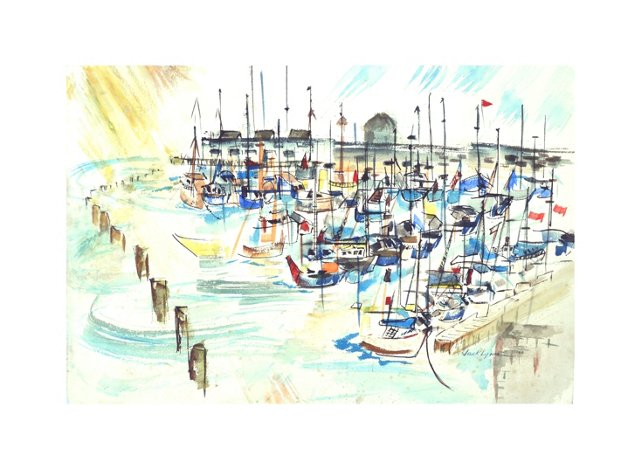 Monterey's Cannery Row by Jack Lynn