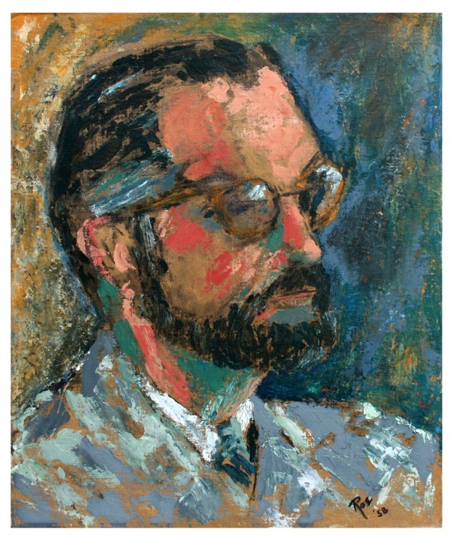 Modernist Portrait, Roe B. Schwarz