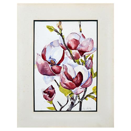 Magnolias by Ann Hobbs