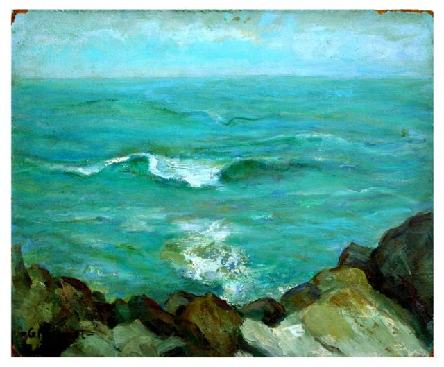 Carmel Seashore by Helen Gleiforst