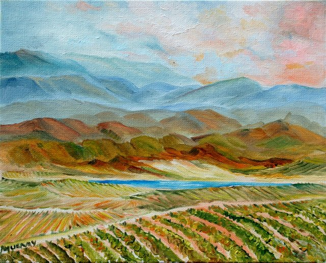 California Foothills by Kathleen Murray