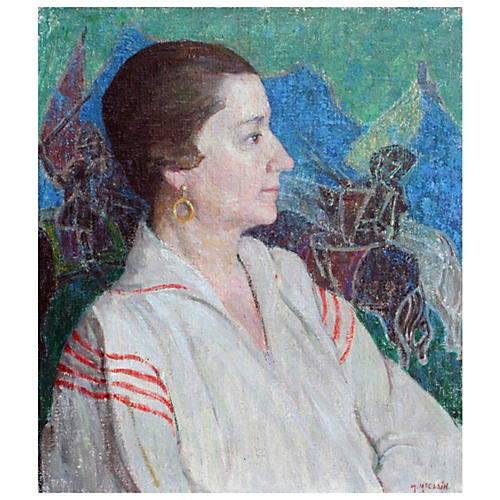 Portrait of Emily Murphy by H. McClain