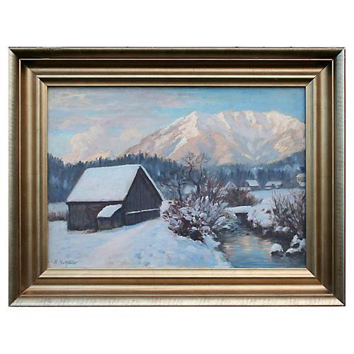 Foothill Farm in Winter