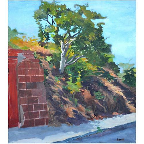 Hillside Oak by Gustave Cimiotti