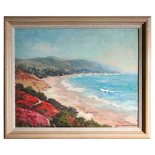 Carmel Beach by Edna Vergon Richard