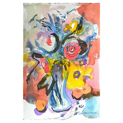 Abstract Bouquet by Les Anderson