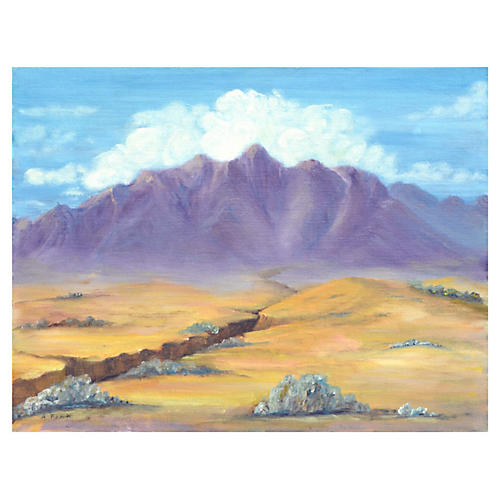 Desert & Mountains by Alice Fink