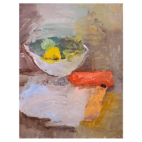 Still Life Bowl of Fruit by Lydia Radda
