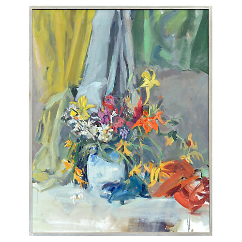 Abstract Floral Still Life