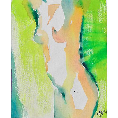 Nude Torso by David Stephens