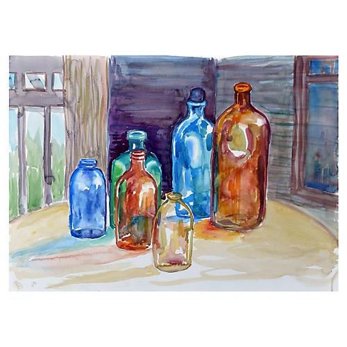 Six Bottles by Doris Warner