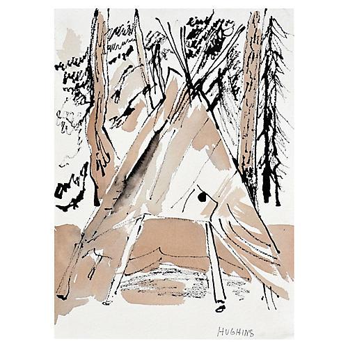 Camp Tee-Pee by Virginia Hughins