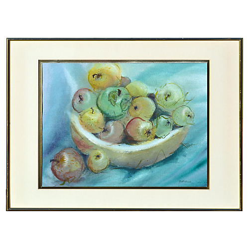 Bowl of Apples Still Life