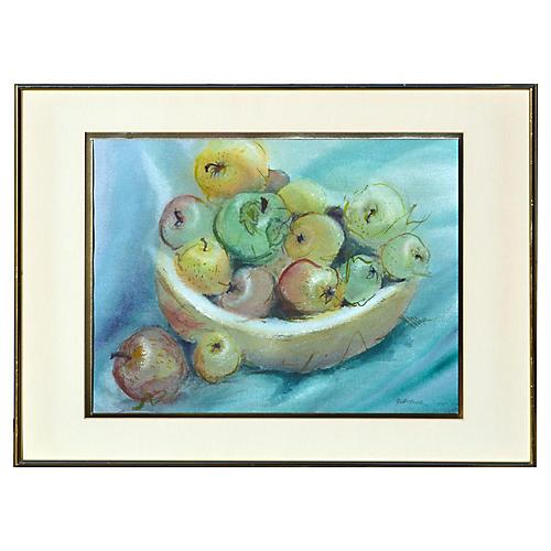 Bowl of Apples Still Life