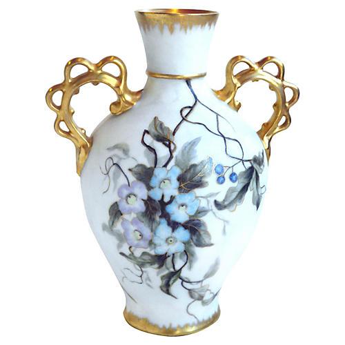 Remy Delinieres & Co. Vase, 22-Karat