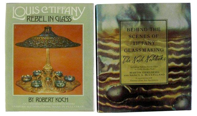 Tiffany Glass, 2 Vols