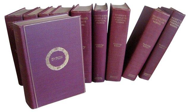 Cambridge Edition of Poets, S/10
