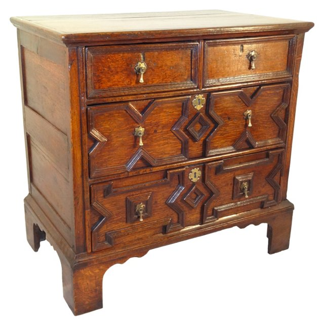 English Bachelor's Chest, C. 1750