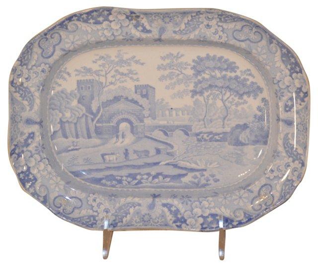 19th-C. Copeland-Spode Platter