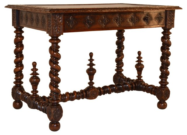 19th-C. French Library    Table