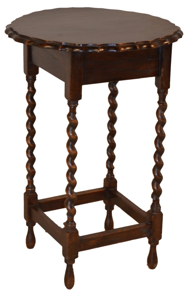 English     Accent Table, C. 1900