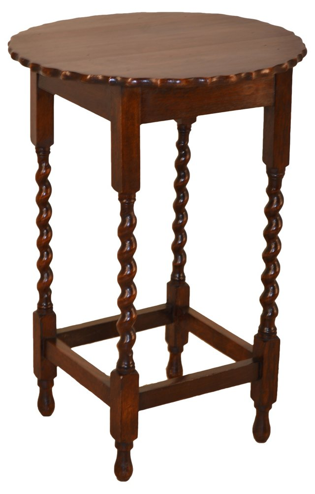 English  Twist Side Table, C. 1900