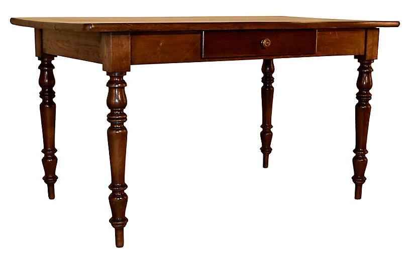 19th-C. French Table