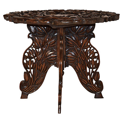 19th-C. Anglo-Indian Side Table