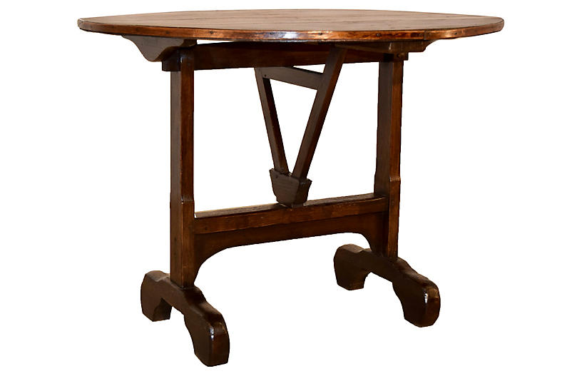 19th-C. French Vendange Table