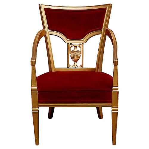 Statesville Royal Throne Chair