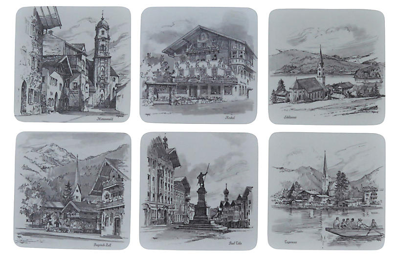 West Germany Coasters, S/6