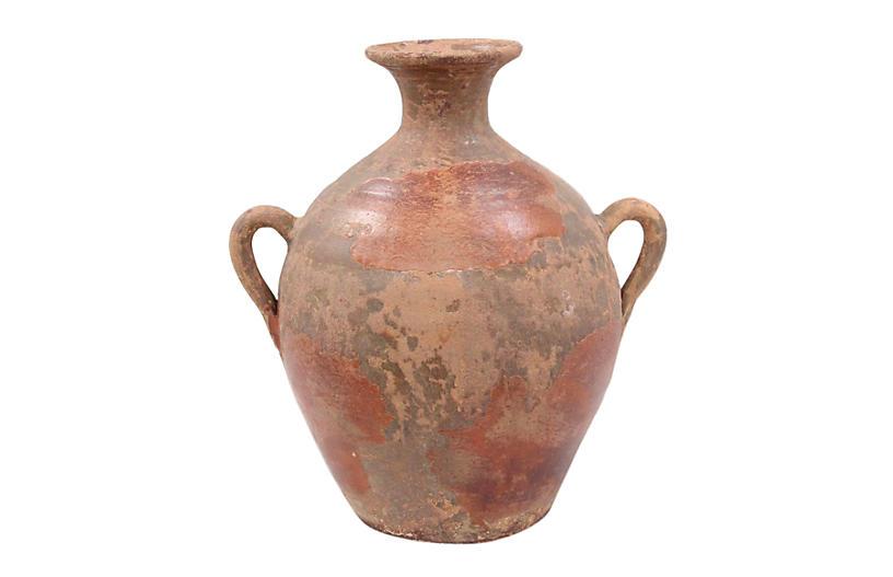 Italian Earthenware Vase
