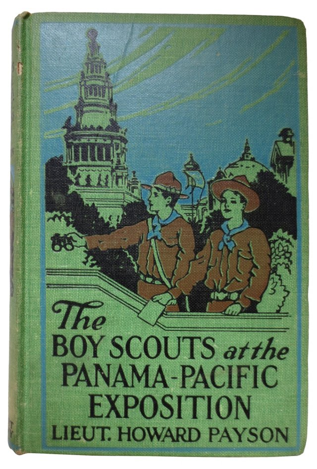 Boy Scouts at Panama-Pacific Exposition