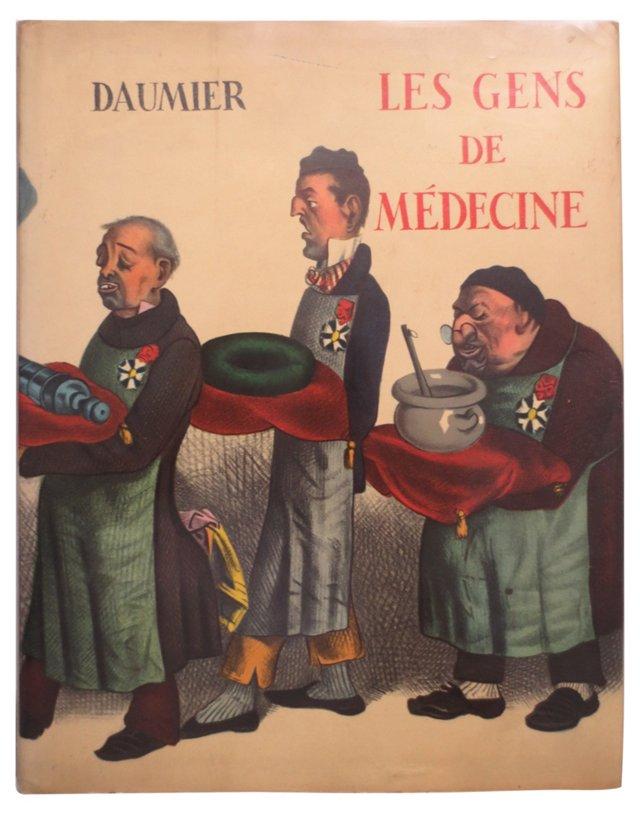 Daumier:  Les Gens de Médecine