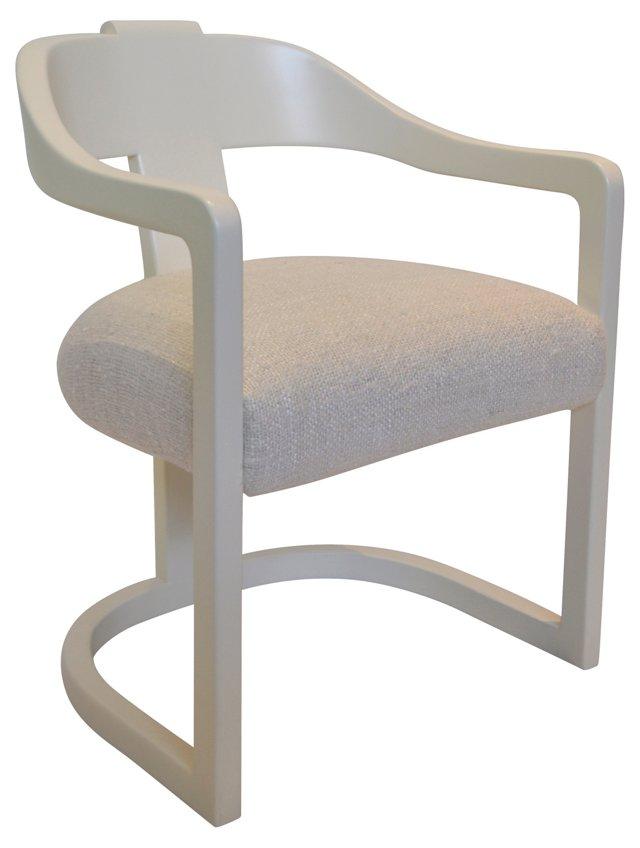 Onassis Chair Attri. to Karl Springer