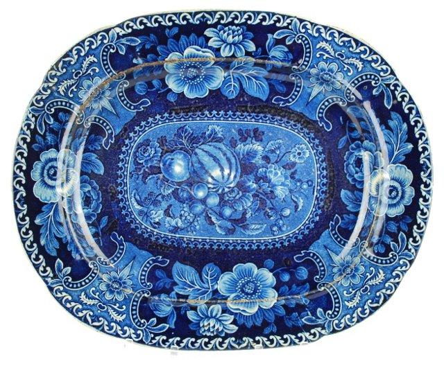 19th-C. Staffordshire   Wall Platter