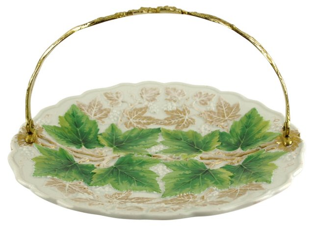 Antique Meissen Serving Tray